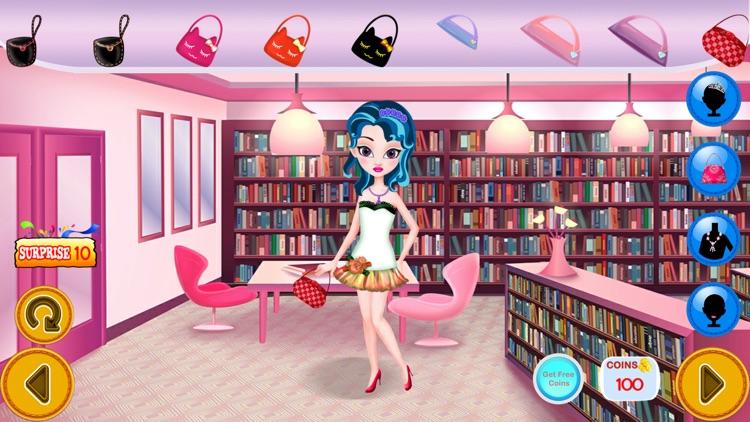 Princess Fashion Library 2 - Makeup, Dressup, Spa