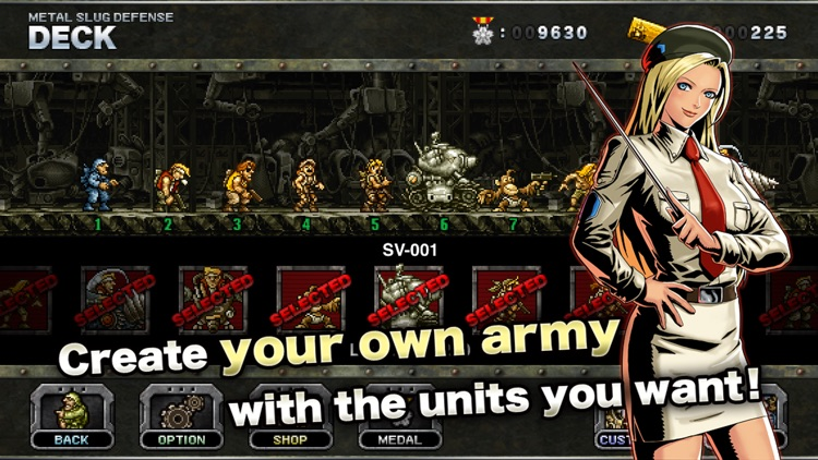 METAL SLUG DEFENSE screenshot-2