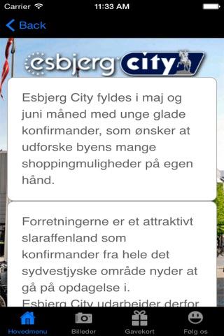 Esbjerg City - náhled