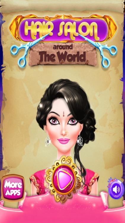 Hair Salon around the World screenshot-4
