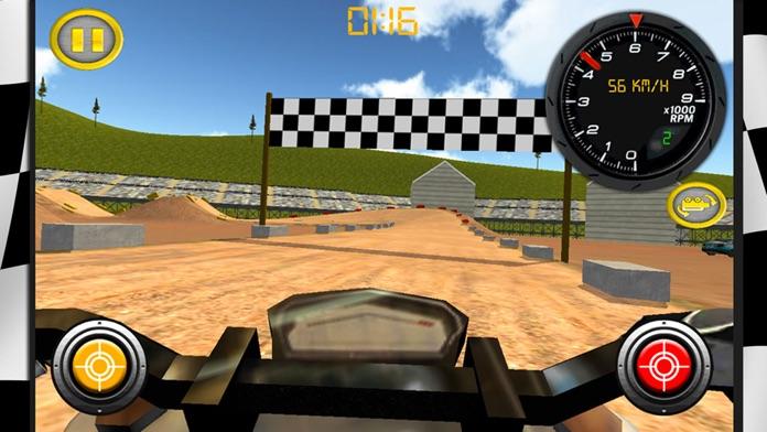 Dirt Bike Motocross Rally Free Screenshot
