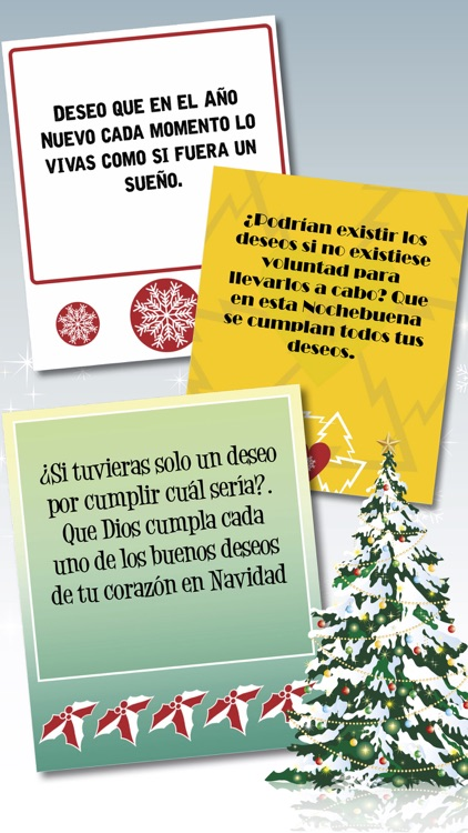 Xmas & New Year greeting messages in Spanish - Pro