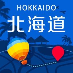 北海道中文离线地图-旅游交通指南,日本北海道自由行景点,地铁火车路线,GPS定位导航