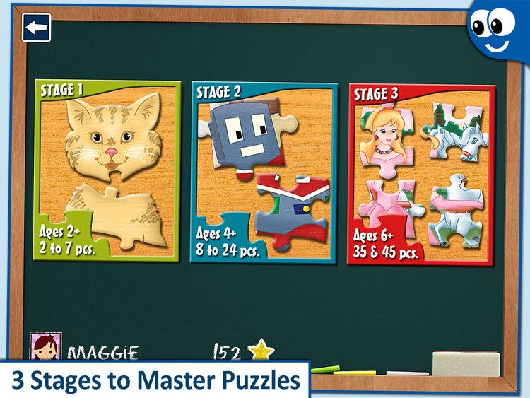 Kids' jigsaw Puzzles Lite screenshot-4