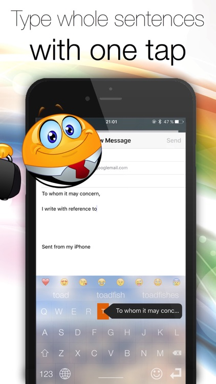 Chat Keyboard - Text and message faster!