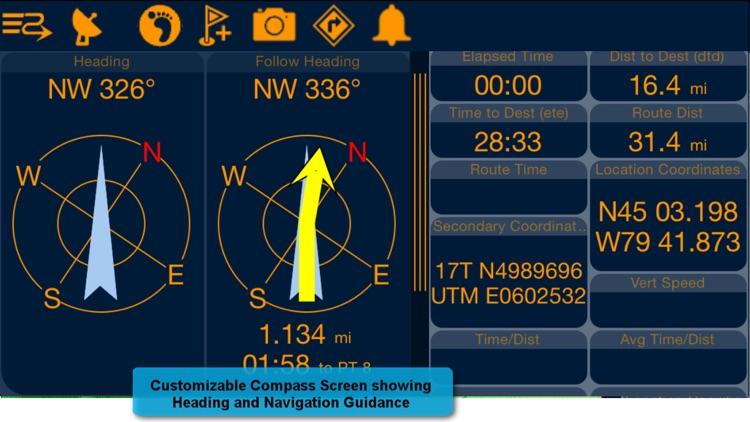PathAway PRO - Outdoor GPS Nav screenshot-3