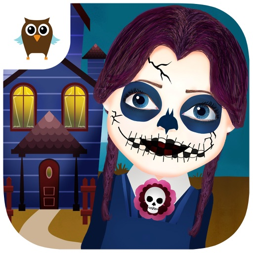 Funny Halloween Party - Dress Up, Makeup, Pumpkin and Candies