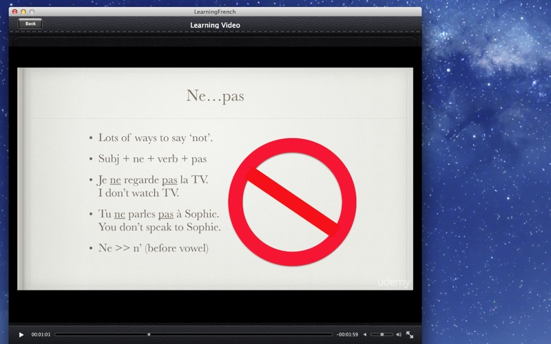 Learning French screenshot 3