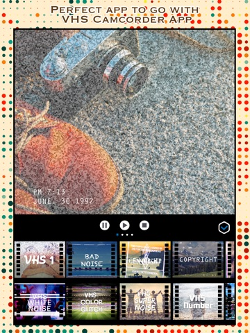VCR Camcorder - Add Retro Camera and VHS Camcorder Effect to