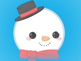 Winter Snowman Stickers