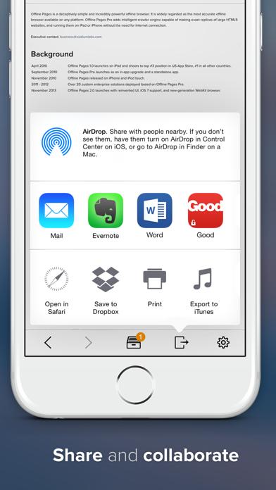 Offline Pages ScreenShot3