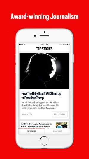 Daily beast app android