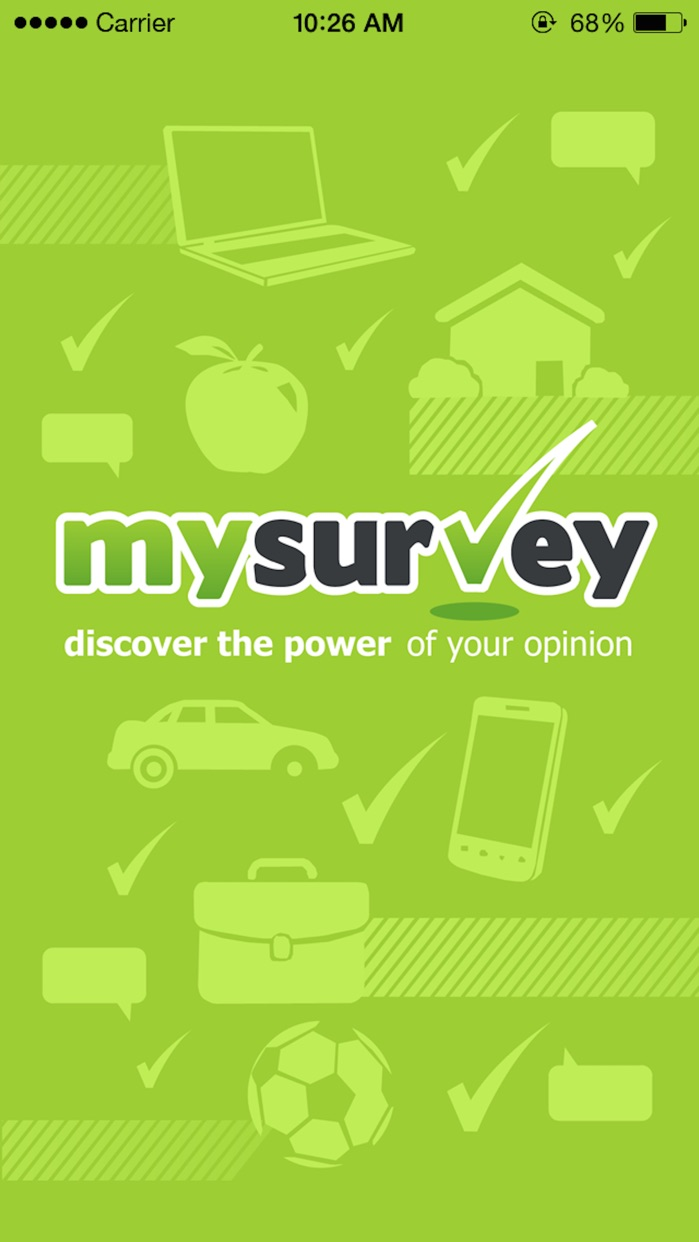 MySurvey Screenshot