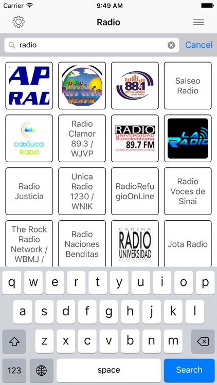 Radio FM Puerto Rico Stations screenshot-1