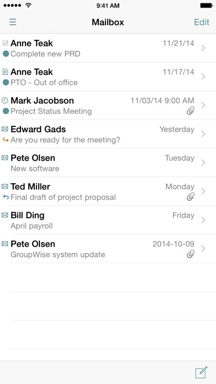 GW Mailbox app image