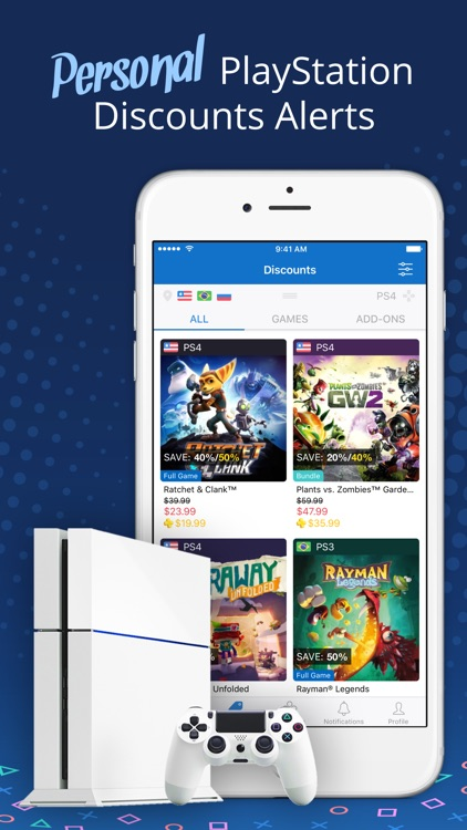 PS Deals - Price Tracker for PlayStation Store App screenshot-0