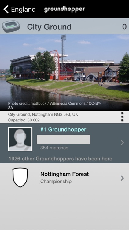 Groundhopper - Live Football