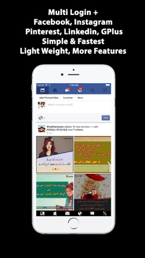 Lite for facebook on the app store screenshots stopboris Images