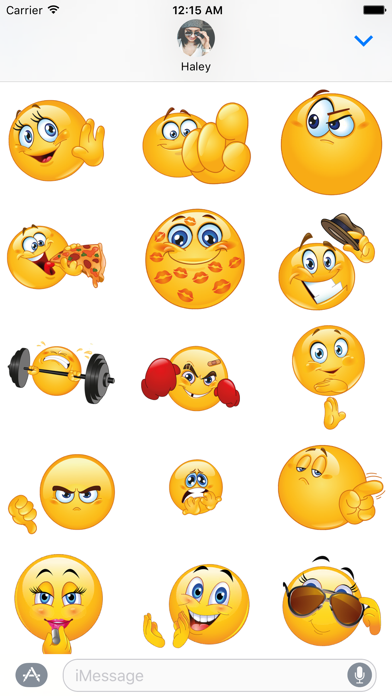 Flirty Animated Emoji – Stickers for iMessage screenshot two