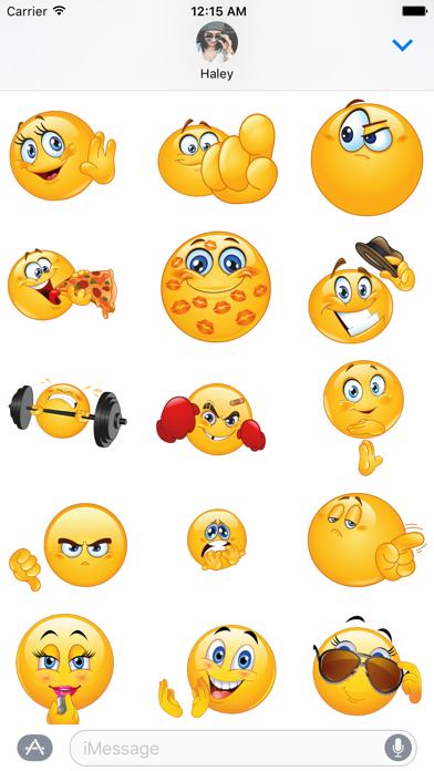 Flirty Animated Emoji – Stickers for iMessage screenshot two