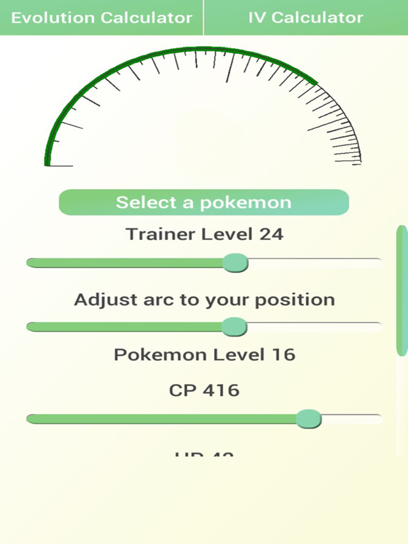 Poké Toolkit - CP Evolution and IV Calculator For Pokemon Go
