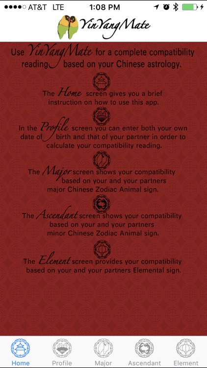 YinYangMate - Partner chinese astrology