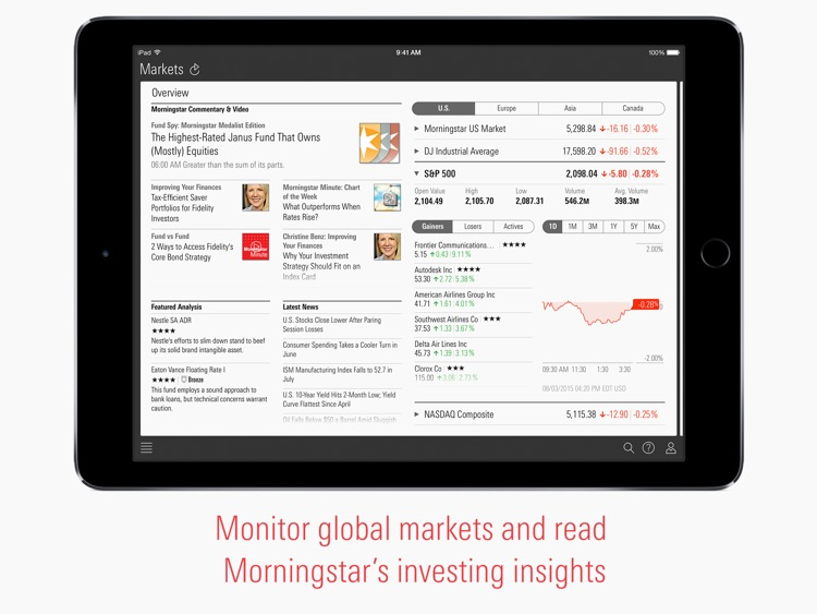 Morningstar for iPad