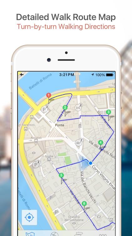 Rome Map and Walks, Full Version screenshot-3