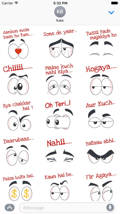 Yaari Dosti Sticker Pack