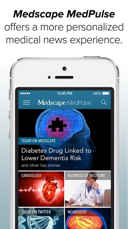 Medscape MedPulse – News & Perspective screenshot-0