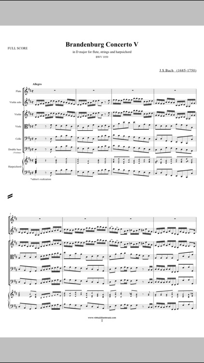Virtual Sheet Music screenshot-1