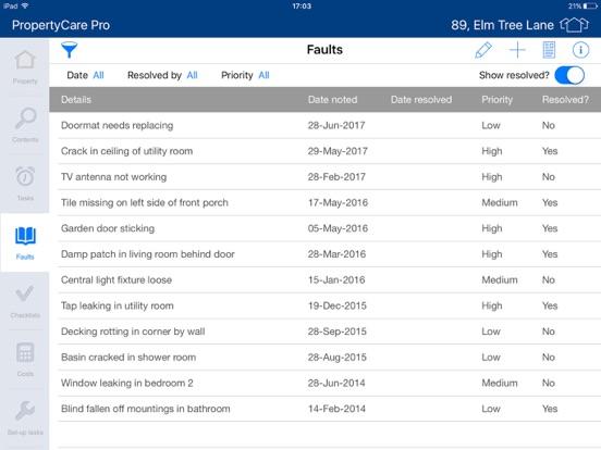 PropertyCare Pro screenshot three