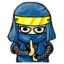 Mystic Ninja - Cute stickers for iMessage