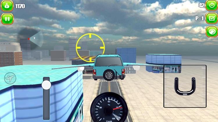 Flying Car Simulator 2017 screenshot-3