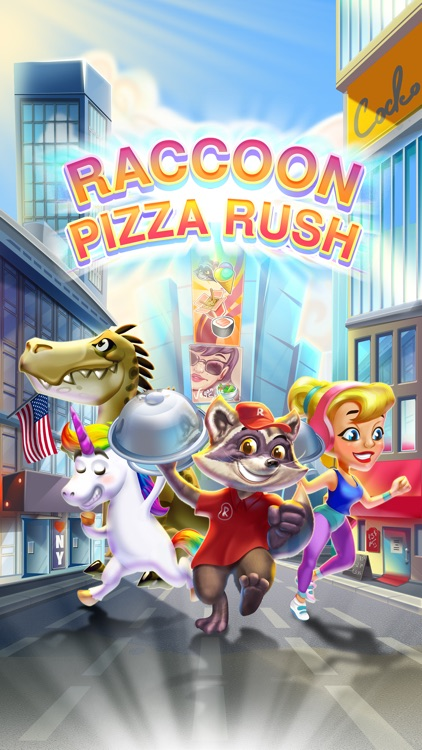 Raccoon Pizza Rush screenshot-0