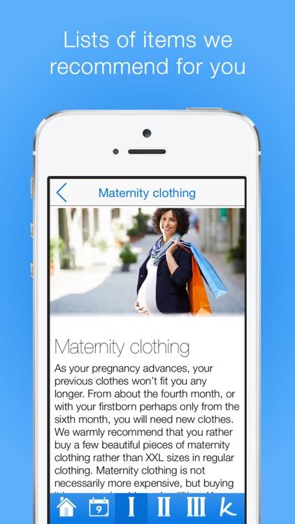 Pregnancy Checklists PRO screenshot-4