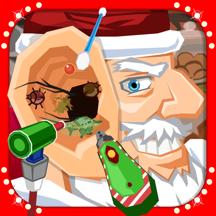 圣诞 耳 医生 小 孩子 手术 游戏