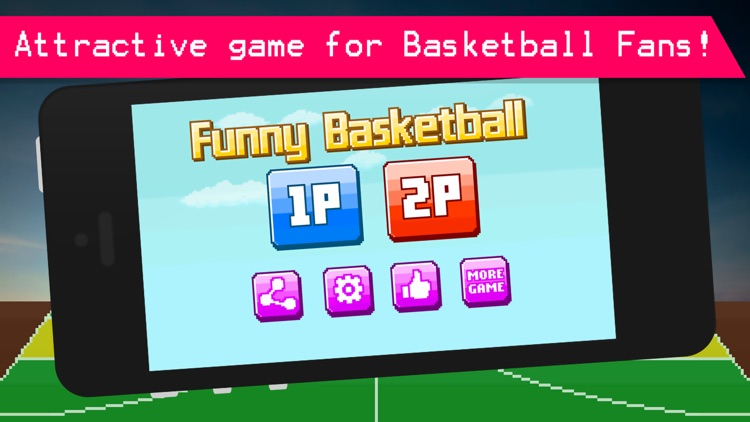 Funny Bouncy Basketball - Fun 2 Player Physics