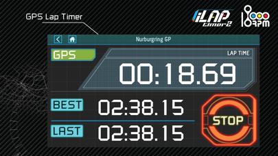 iLapTimer 2:Motorsport GPS Lap Timer & Data Logger screenshot three