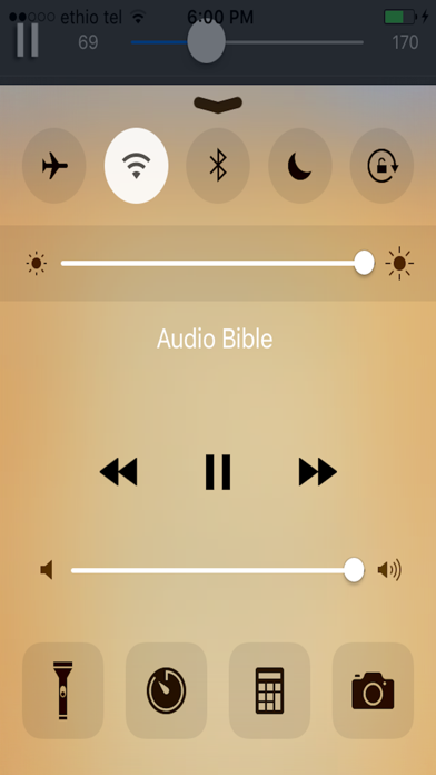 Screenshot for Amharic Audio Bible + in United States App Store