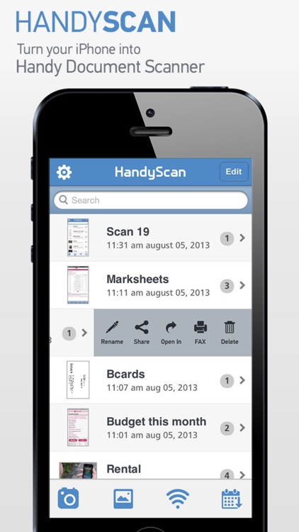 HandyScan Pro : Multipage Document Scanner