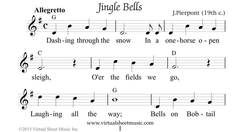 VSMCarols Christmas Sheet Music