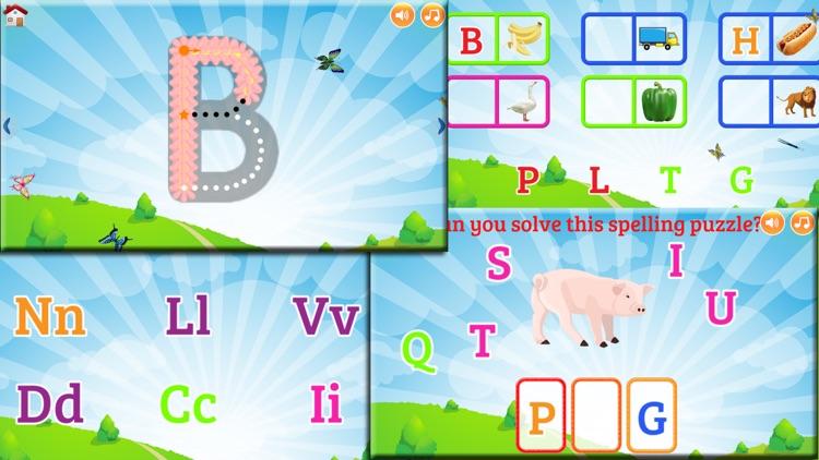 ABC Learning: Tracing - Phonics - Quiz & Games screenshot-3