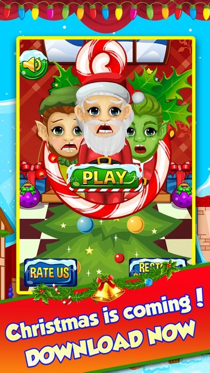 Christmas Foot Spa Doctor - little santa baby salon kids games for boys & girls! screenshot-3