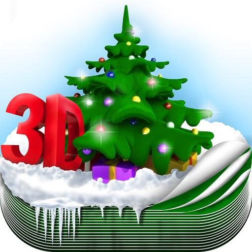 3D Christmas Wallpaper Maker – Xmas Backgrounds iOS App