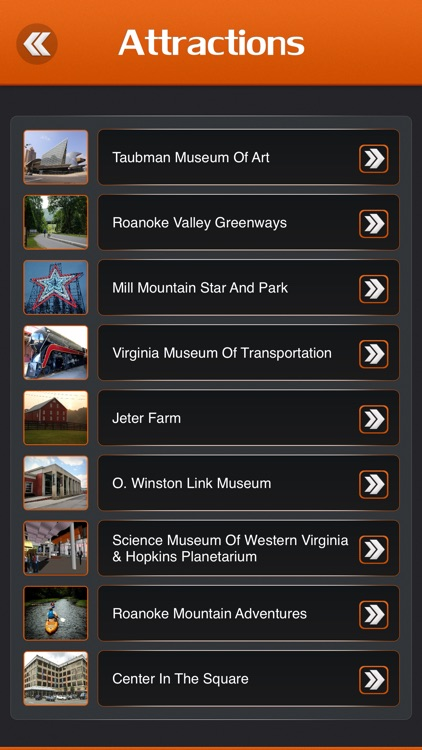 Roanoke Visitor Guide screenshot-2