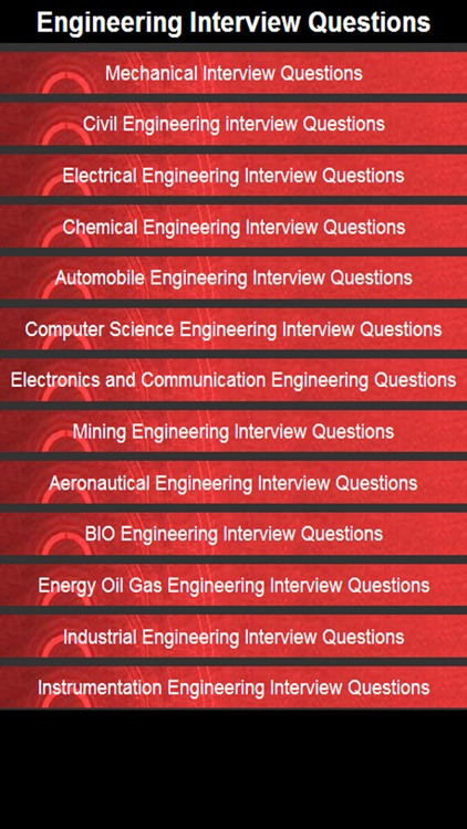 Engineering Interview Questions and Answers screenshot-0