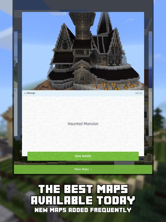 Mansion Maps For Minecraft PE Minecraft Maps App Price Drops - Minecraft maps fur ipad