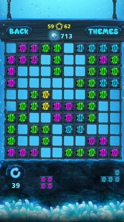 Block Puzzle: Ocean style,Popping bubbles screenshot-2