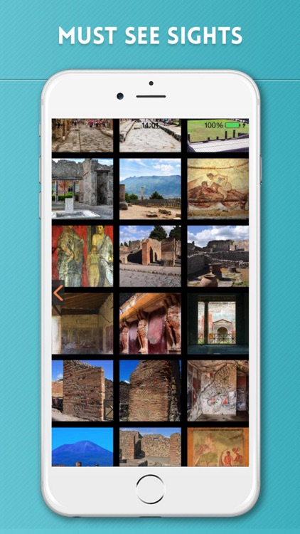 Pompeii Travel Guide with Offline City Street Map screenshot-3